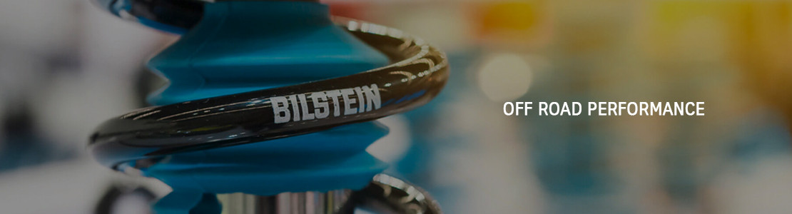 Produits Bilstein destinés au tout terrain